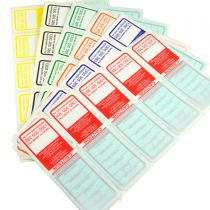 All Purpose Electrical Test Tags - NSW Multi-Colour Pack