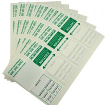 Green Heavy Duty Electrical Test Tags